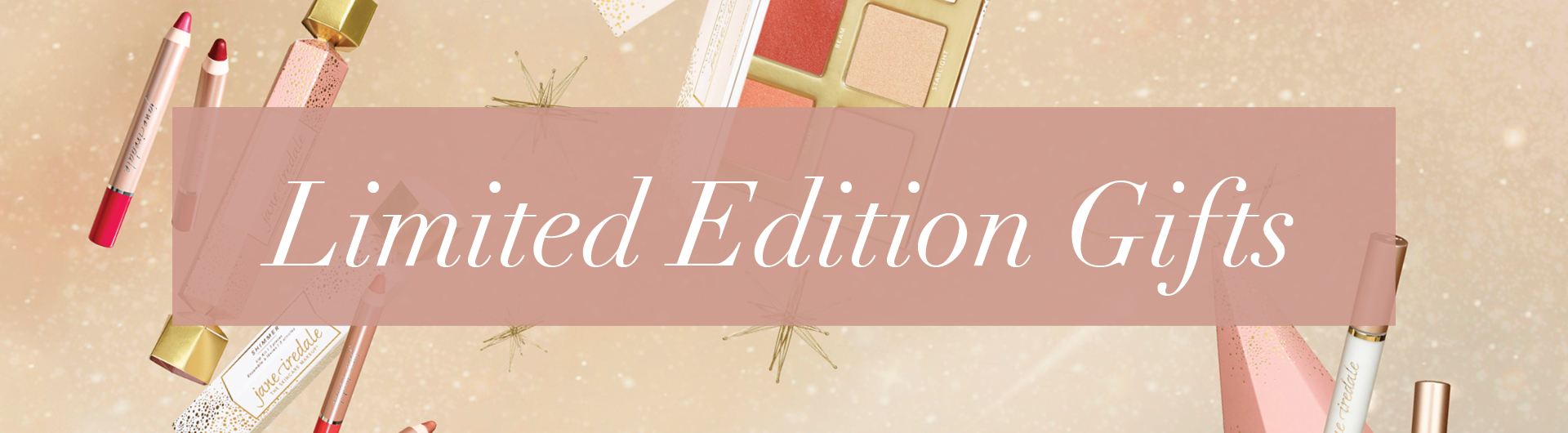 Limited Edition Gifts Banner